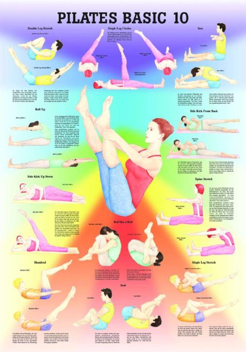 Pilates Basic 10 24 x 34 cm