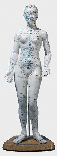 Akupunkturfigur, weiblich