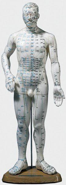 Akupunkturfigur, männlich