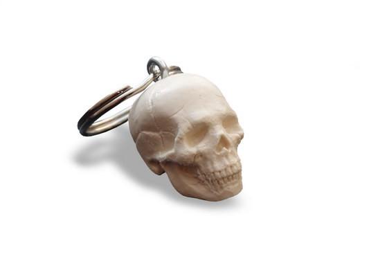 Schlüsselanhänger Mini-Schädel
