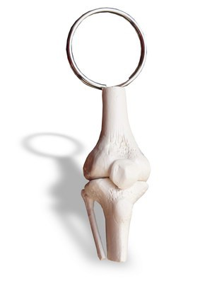 Schlüsselanhänger Kniegelenk