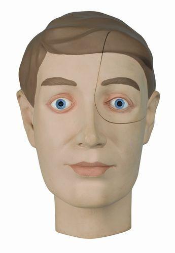 Migränekopf, zweiteilig