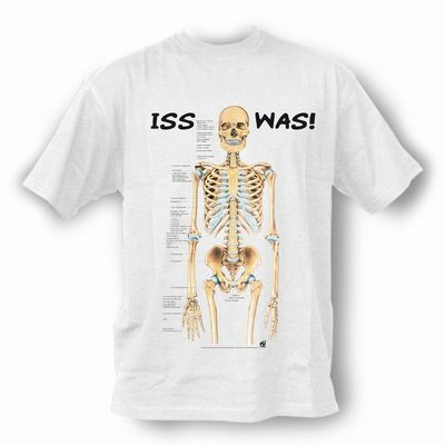 T-Shirt Skelett