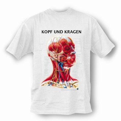 T-Shirt Kopf und Kragen