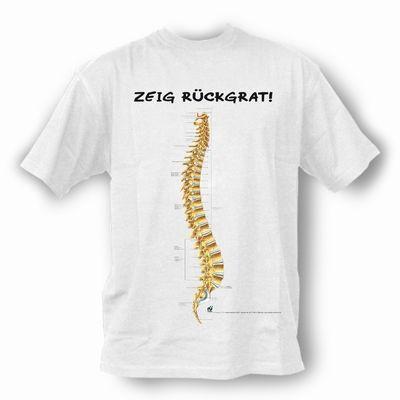 T-Shirt Wirbelsäule